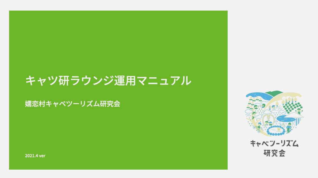 キャツ研ラウンジ運用マニュアルPDF